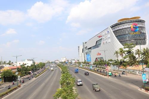 Trục đường Phạm Văn Đồng tăng tính liên kết cho khu vực phía Đông thành phố